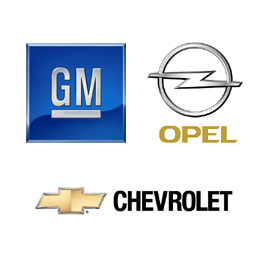General Motors, Opel, Chevrolet
