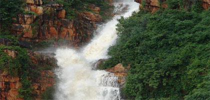 Akashganga Waterfall