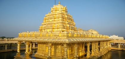 Sripuram Vellore Golden Temple
