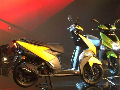 Sluggish scooter biz drags TVS Motor's domestic two-wheeler sales down 27%