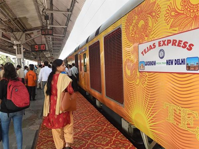 IRCTC to pay around Rs 1.62 L as compensation after Tejas Express delayed