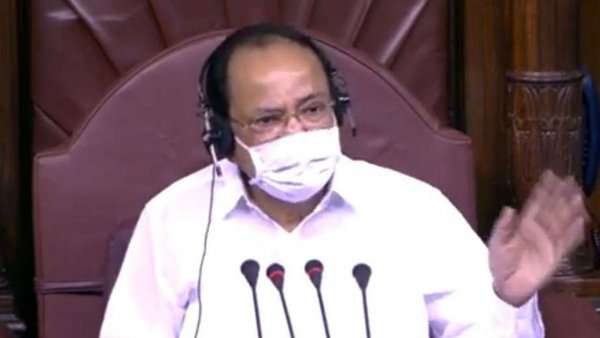 Eight MPs suspended from Rajya Sabha over unruly behaviour