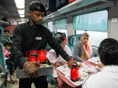 IRCTC shares climb 4% as Railways revises prices of standard meals