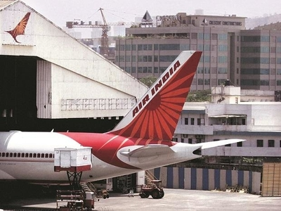 Crew getting substandard Covid-19 protective gear in flights: Air India