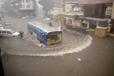 Mumbai gets highest downpour of season in 12 hours with 215.8 mm rains