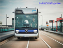 Self-Driving Mercedes-Benz Bus